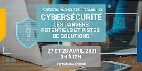 Cybersécurité : dangers potentiels et pistes de solutions tickets