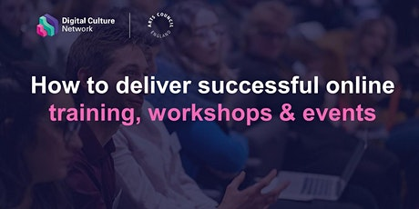 How to deliver successful online training, workshops & events tickets