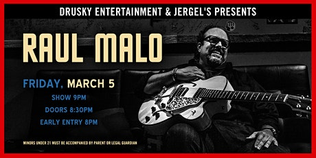 Raul Malo (Late Show) tickets