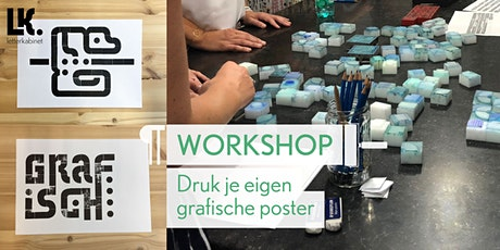 Workshop: Grafische Poster tickets