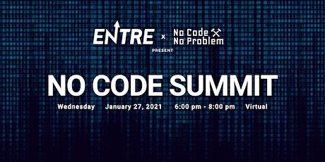 No Code Virtual Summit tickets