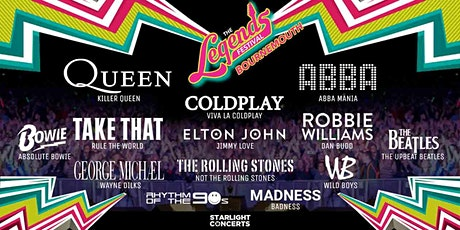 The Legends Festival  - King's Park - Bournemouth tickets