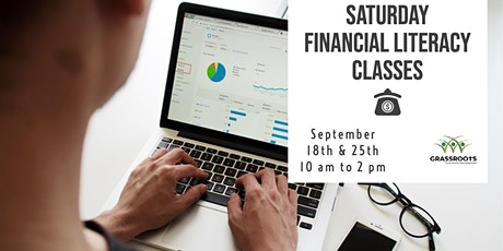 Saturday Financial Literacy Classes - Starting September 18th tickets