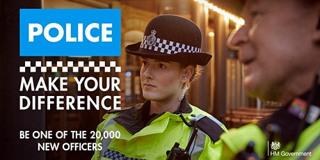 Make Your Difference - police careers discovery event for women tickets