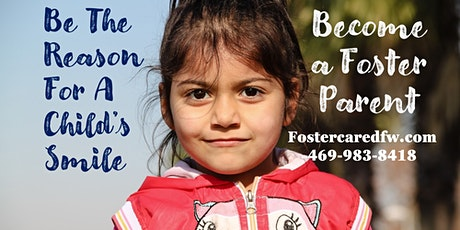 Become a Foster Parent- STEP 1 Orientation tickets