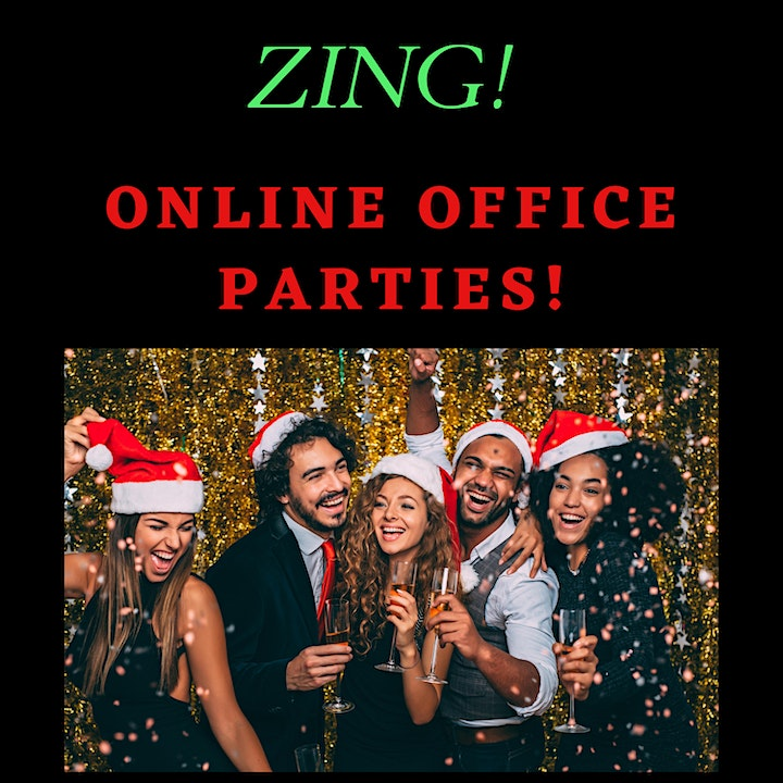 ZING! Online Christmas Parties. image