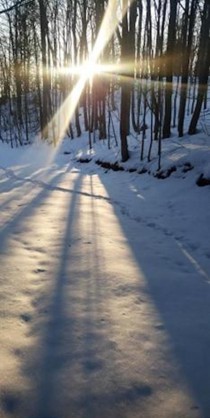 SNOWSHOE & BONFIRE AT NATURE BABES image