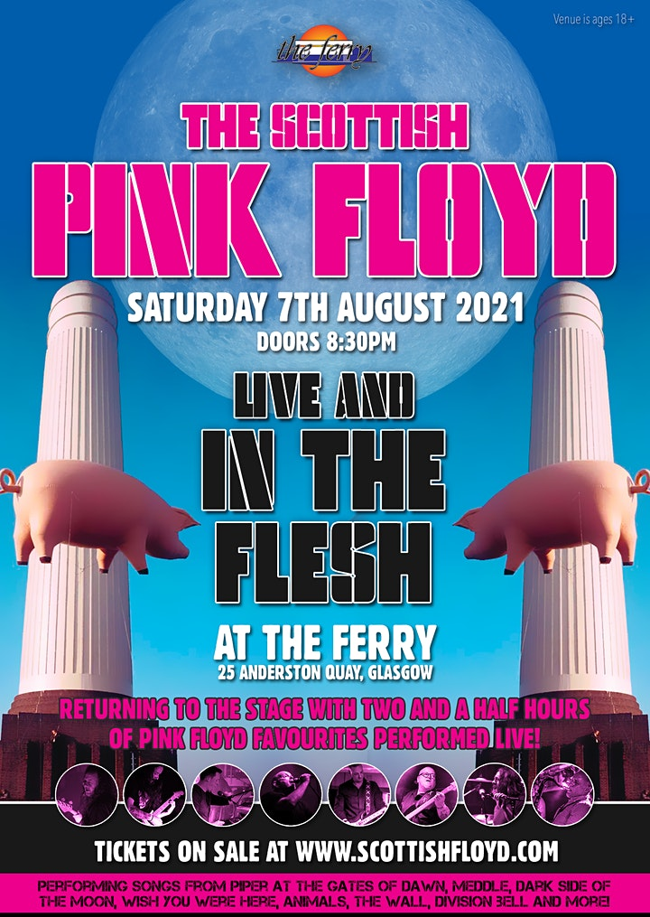 The Scottish Pink Floyd Live and In The Flesh! image