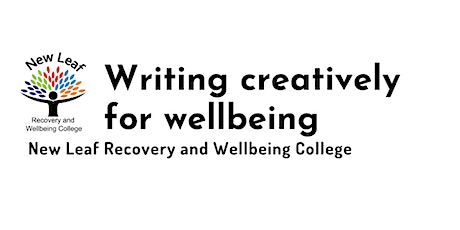 Writing creatively for wellbeing tickets