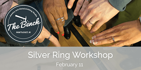 Silver Rings - Mini Jewelry Workshop tickets