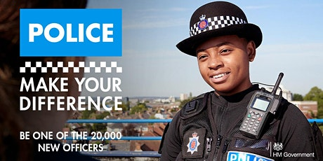 Make Your Difference - BAME police careers discovery event tickets