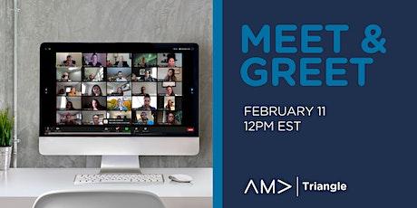 AMA Triangle New Member Virtual Meet & Greet (Feb 11th) tickets