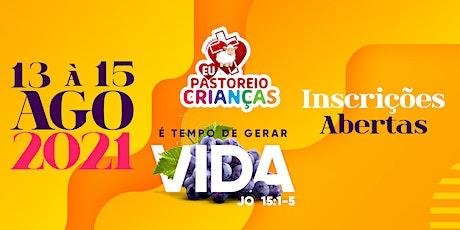Seminário Eu Pastoreio Crianças - 2021 ingressos
