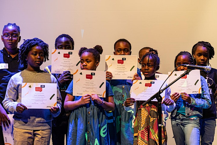 29th Annual AfroQuiz: Participant registration for Grades K-3 image