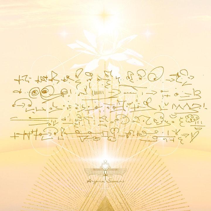 Portal of Illumination with 12 Cosmic Masters & Sophia Christ image