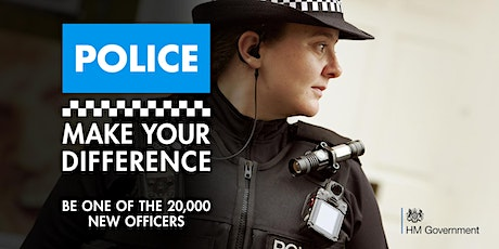 Make Your Difference - neurodiversity & disability police careers event tickets