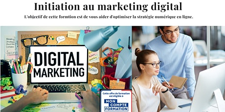 Formation Marketing Digital billets