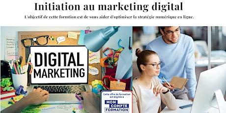 Formation Marketing Digital tickets