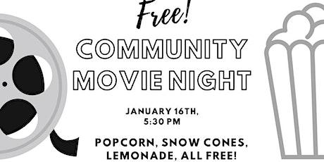 Outdoor Community Movie Night **Free tickets