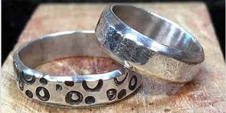 Sterling Silver Band Ring with Morag Budgeon tickets