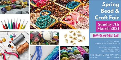Spring Bead & Craft Fair tickets