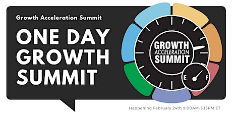Growth Acceleration Summit tickets