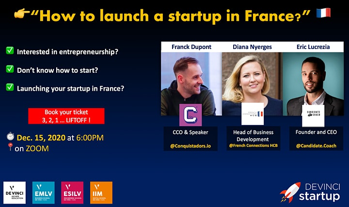 How to launch a startup in France ? image