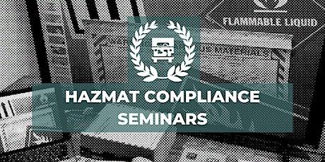 Pacific Time Zone  HazMat Compliance Seminars on 03/25 tickets