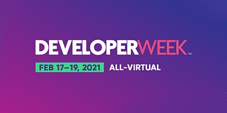 DeveloperWeek 2021 tickets