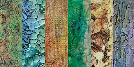 Online Mixed Media Textiles & Acrylic tickets