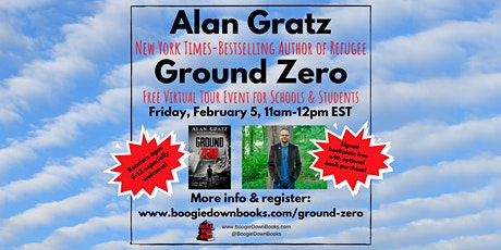 Ground Zero Virtual Tour with Author Alan Gratz (New York stop) tickets