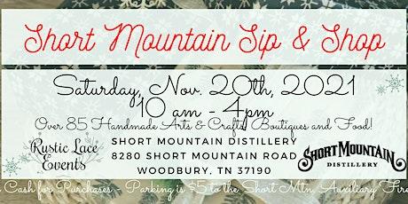 Short Mountain Sip & Shop tickets