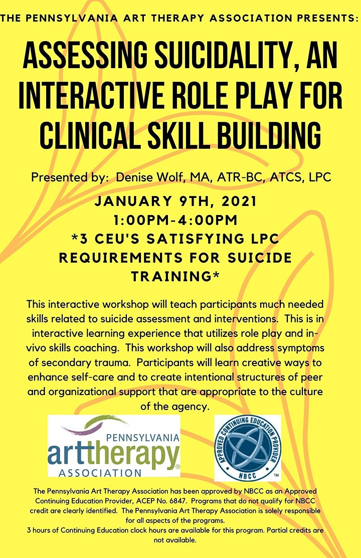 Assessing Suicidality, An Interactive Role Play for Clinical Skill Building image