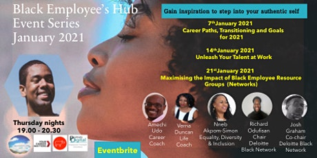 Black Employee's Hub, Event Series January 2021 tickets
