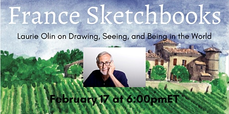 France Sketchbooks: Laurie Olin on Drawing, Seeing, and Being in the World tickets