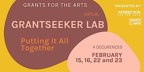 Grants for the Arts: Grantseeker Labs tickets
