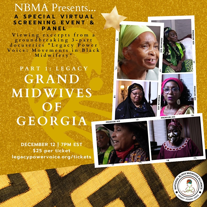 Film Excerpt and Panel- Legacy Power Voice: Movements in Black Midwifery image
