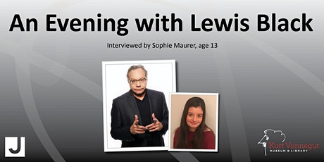 An Evening with Lewis Black in partnership with the Indianapolis JCC tickets