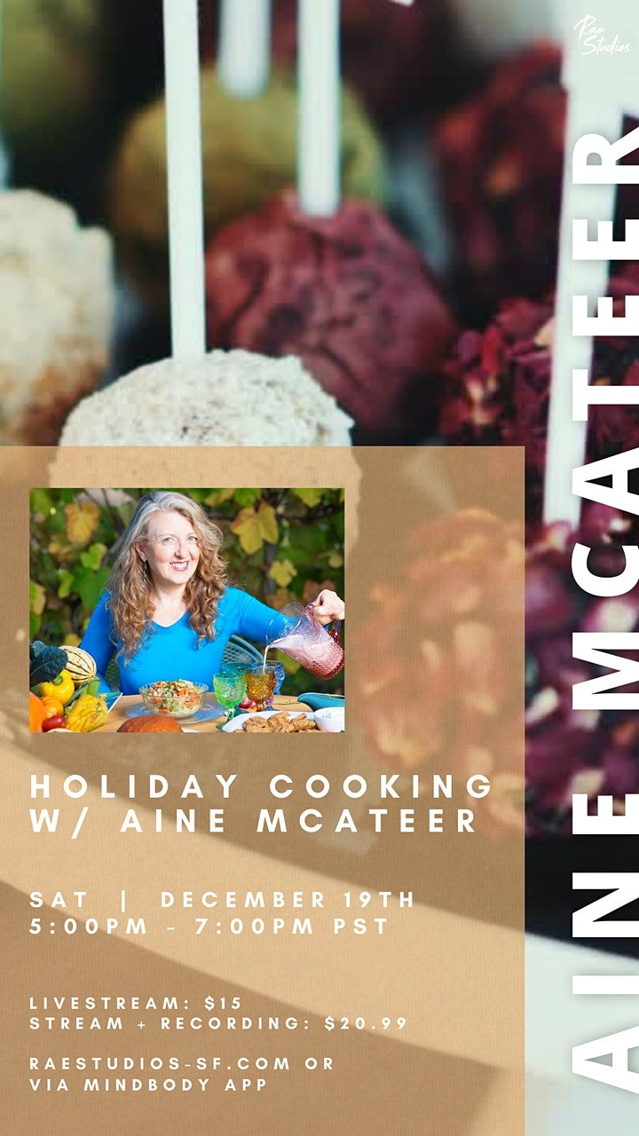 Cooking with Aine McAteer | Rae Studios image