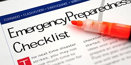 CC - Make an Emergency Plan for Your Neighborhood tickets