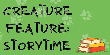 ANSC Virtual Creature Feature: Animal Storytime for 3-6 Year Olds tickets