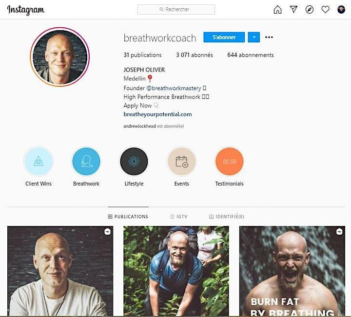 Breathwork Coaches Networking image