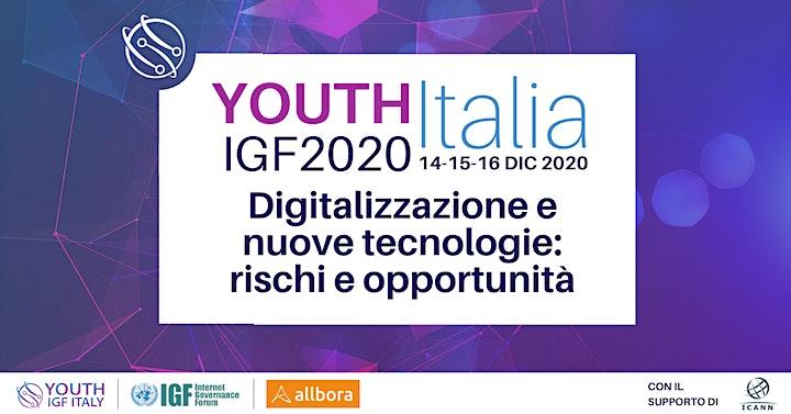 Immagine Youth IGF Italia 2020