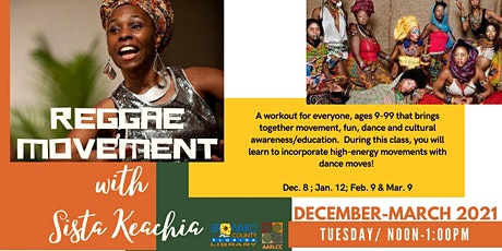 Reggae Movement with Sista Keachia tickets