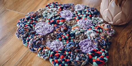 Eco friendly Rag Rug Workshop tickets