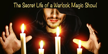 The Secret life of a Warlock Magic Show at Las Vegas Magic Theater tickets