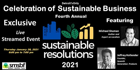 Sustainable Resolutions 2021 (SR2021) tickets