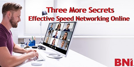 Online Speed Networking. Learn to Zoom and Get Referrals for Your Business. tickets