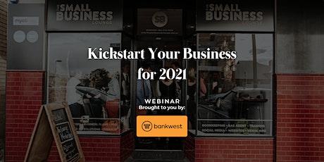 Kickstart 2021 tickets