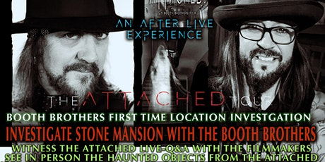 STONE MANSION BOOTH BROTHERS ATTACHED TOUR tickets
